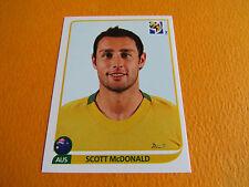 295 Mc DONALD AUSTRALIA PANINI FOOTBALL FIFA WORLD CUP 2010 COUPE DU MONDE