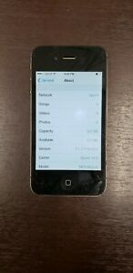 Apple-iPhone-4-3G-SmartPhone-8GB-Black-clean-esn-has-bad-charge-port-please-read
