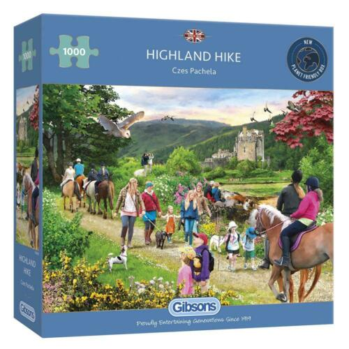 Gibsons highland hike Jigsaw Puzzle 1000 Pieces Toys Puzzles