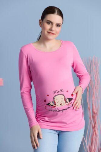 Hallo Lieblingsmensch Freche süße lustige Schwangerschaftssweatshirt Aufdruck