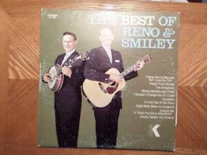 King-LP-Registrazione-Reno-amp-Smiley-Best-di-Bluegrass-Country-VG-Vinile