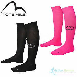 2-Pairs-More-Mile-Compression-Sports-Running-Knee-High-Long-Socks-Men-Ladies-NEW