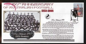 150th-ANNIV-OF-AUSTRALIAN-FOOTBALL-COVER-PORT-ADELAIDE-FC-1954-SANFL-PREMIERS