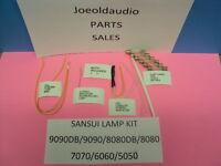 Sansui Lamp Kit For 9090db & Many Sansui Vintage Models. Read Below. Tested.