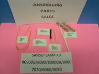Sansui Lamp Kit For 9090db & Many Sansui Vintage Models. Read Below. Tested.