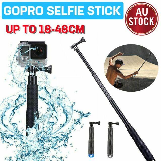 GoPro Selfie Stick Monopod Pole Mount Handle Telescopic Go Pro Hero 8 7 6 5 4 3+