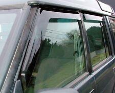 LAND ROVER CLASSIC 1987-1998 FRONT & REAR WIND DEFLECTOR SET 4 PIECES DA6070