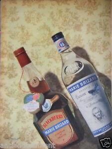 PUBLICITE-1956-BLACKBERRY-MARIE-BRIZARD-LIQUEUR-DE-FRUIT-ANISETTE-ADVERTISING