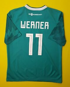 2822e9ad3 4.9 5 Werner Germany soccer kids jersey 2018 away shirt BR3146 ...
