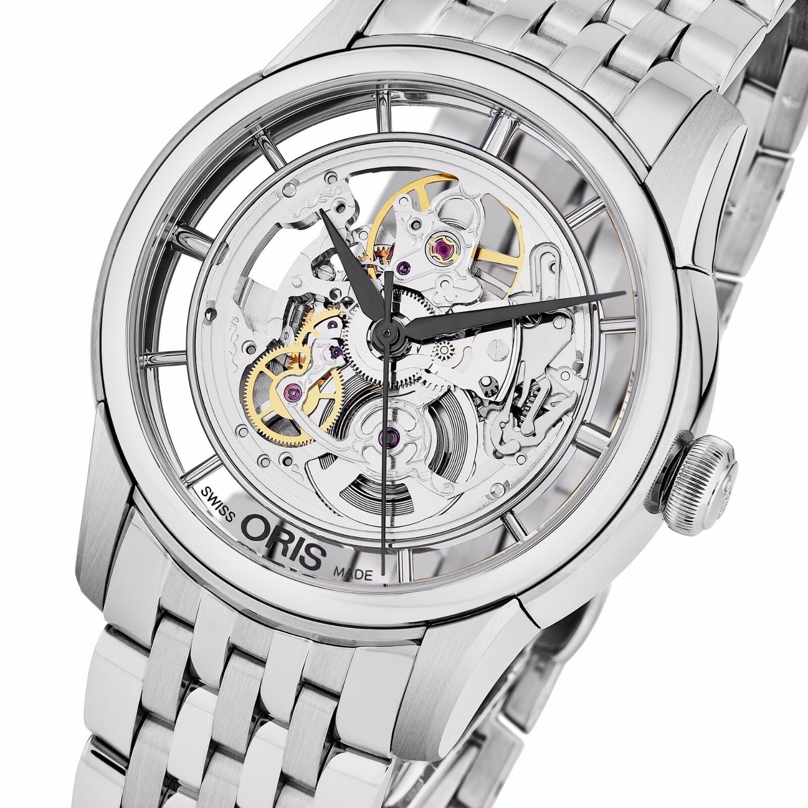 artelier oris watch watches youtube skeleton translucent