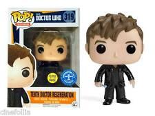 Tenth 10th Doctor Who Regeneration Glows in the dark Pop! Funko Vinyl figure 319