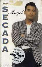JON SECADA - ANGEL / JUST ANOTHER DAY 1992 UK CASSINGLE CARD SLEEVE SLIP-CASE