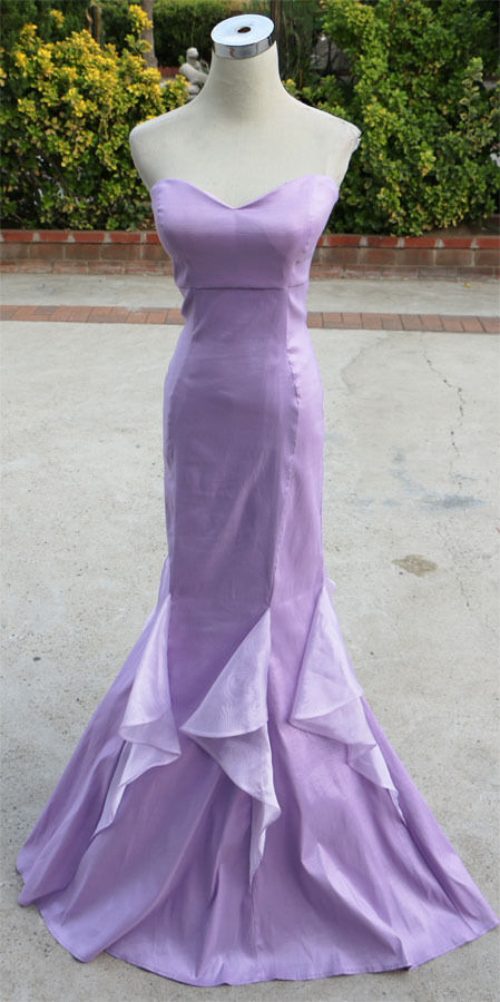 NWT WINDSOR  100 Lavender Formal Evening Prom Gown 3