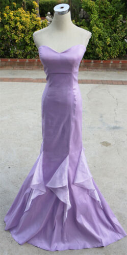 NWT WINDSOR $100 Lavender Formal Evening Prom Gown 5