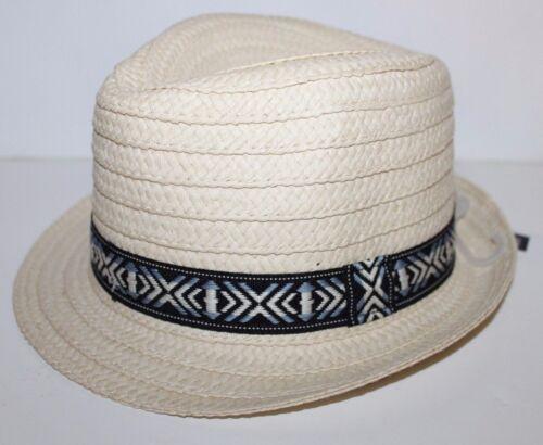 baby Gap NWT Boy 12 18 24 Mo 2T 3T 4T Beige Paper Straw Fedora Hat w// Band