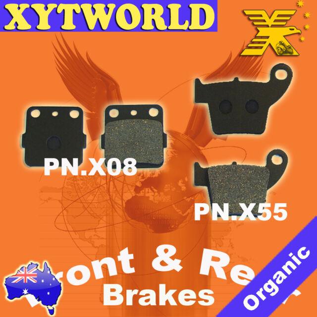Rear Sintered Brake Pads For Honda CRF150 R//RB 07-15