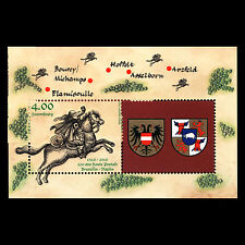 Luxembourg 2016 - Brussels-Naples Postal Route by Thurn & Taxis - MNH