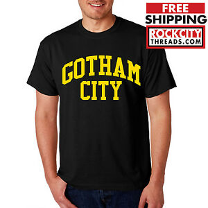 BATMAN-GOTHAM-CITY-ORIGINAL-T-SHIRT-DC-Comics-Tshirt-Joker-Dark-Knight-Shirt-Bat