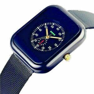 Business Men's Smart Watch Designer Style Casual Quartz Watch-Black with BOX