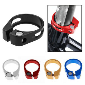 Cycling-Saddle-Fixed-Seatposts-Clamp-Aluminum-Alloy-Quick-Release-Bike-Parts