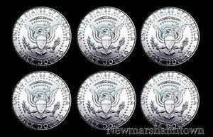 2005 2006 2007  P D Uncirculated Kennedy Half Dollar Mint Roll Set