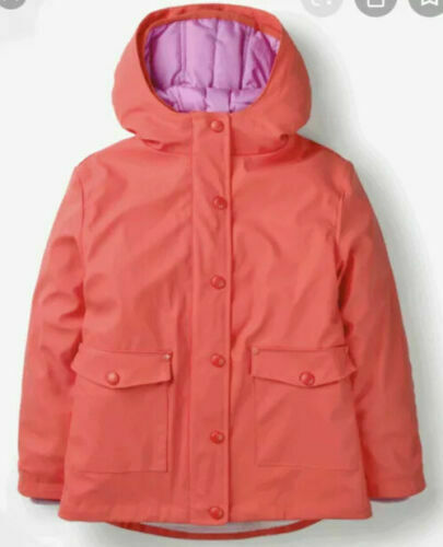 Mini Boden Girls/' Waterproof 3-in-1 quilted Raincoat Jam Red BRAND NEW G1031