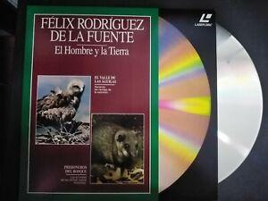 Felix-Rodriguez-Of-Power-the-Man-Y-La-Earth-Laser-Disc-Eagles-Y-Rodents