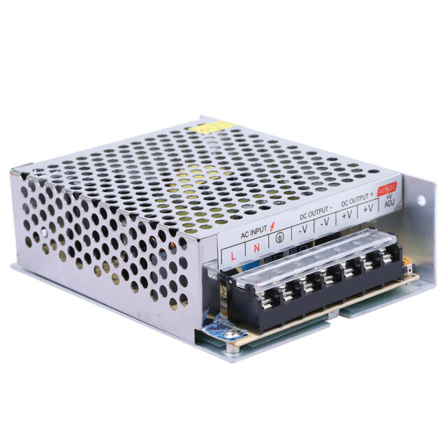 HOT SALE 12V DC 10A 120W Regulated Switching Power Supply for LED Strip Light