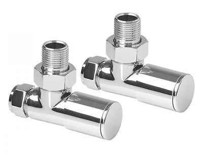 Chrome Heated Towel Rail / Radiator, Straight / Curved, Variety Sizes