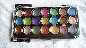 PEARLESCENT WATERCOLOR PAINTS ~ 21-PC PAINT SET ~ FREE SHIPPING!