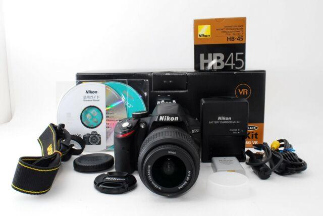 Nikon D3200 24.2mp Digital SLR Camera w/ AF-S18-55mm VR Kit 10574shot [Exc+5]