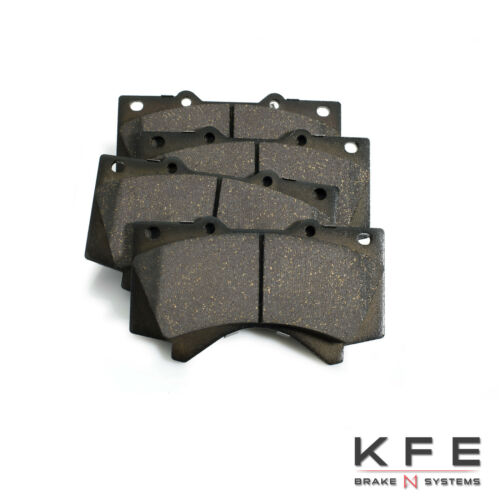 REAR Set Fits Toyota Tundra Sequoia LX570 Premium Ceramic Disc Brake Pad FRONT