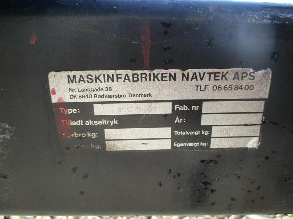 Tipvogn, NVL 45-BT Velholdt