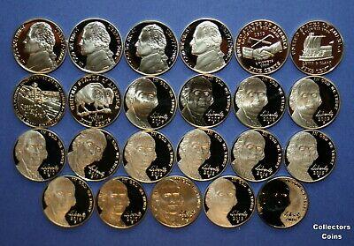 2000 2001 2002 2003 2004 2005 2006 2007 2008 2009 P+D Jefferson Nickel Mint Set