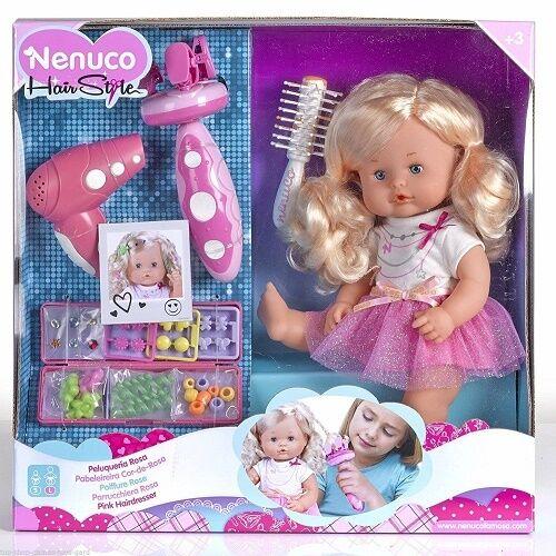 Famosa 12385 Bambola Nenuco Parrucchiera con accessori originale nuova