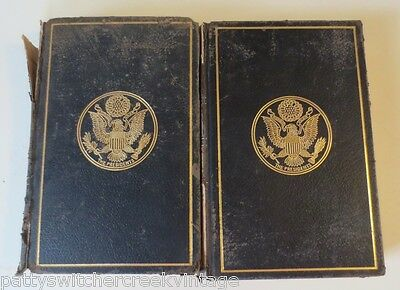 Antique Book-MESSAGES AND PAPERS OF THE PRESIDENTS- Vol II & XIV-C1897