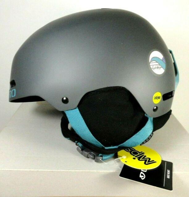 GIRO Ledge MIPS Adult Sz M Meduim Snow Sports Helmet Matte Char HNH