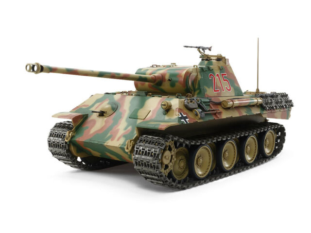 56605 Tamiya 1/25 R/C  PANTHER Ausf.A  German WWII Tank Full Set  2.4GHz Kit
