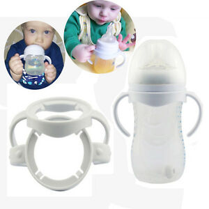 2Pcs-Flaschengriff-fuer-Avent-Natural-Weithalsflasche-Baby-Ernaehrung-Tools-Heisse
