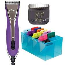 Oster A6 Slim Clipper Kit Includes CryogenX Elite Blade 7F & 10 Attachment Combs