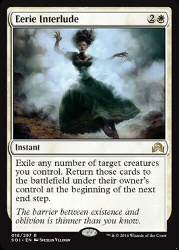 Eerie Interlude Foil x1 Magic the Gathering 1x Shadows over Innistrad mtg card