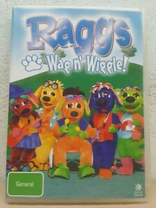 Raggs-Wag-N-039-Wiggle-DVD-2007-Children-039-s-amp-Family-Channel-7-Region-4-PAL