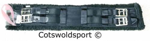 "CS  Short Elasticated Webb Girth with Fleece Lining Length 75cm 29.5/"""