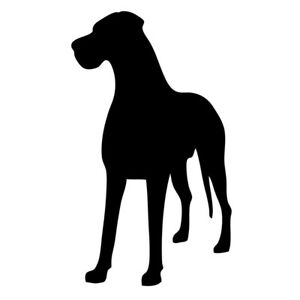 Great Dane Mom Vinyl Car Window Decal Great Dane Great Dane Dogs Dane