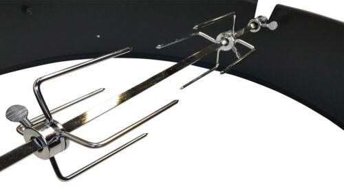 Premium BARBECUE a Carbone Kettle Grill SPIEDO Anello Per Pollo-si adatta Weber 57 cm
