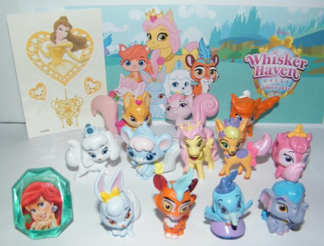 Disney Whisker Haven Tales With The Palace Pets Figure Set Of 14 Toy Kit Ring