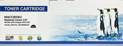 CRG137 Canon Universal compatible BLACK TONER CARTRIDGE REPLACEMENT HP CF283X