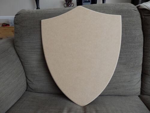 1 x 50cm large MDF Wooden shield blank battle reenactment Historical Craft props
