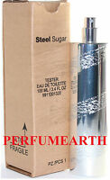 Steel Sugar Tester 3.4 Oz Edt Spray For Men By Aquolina & In A Tester Box