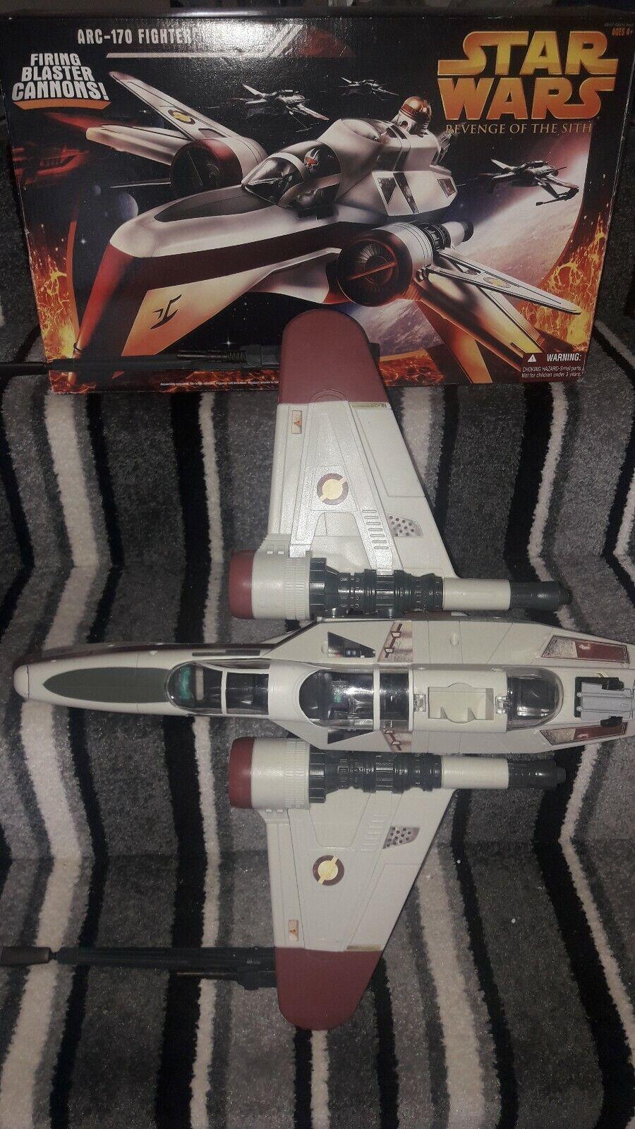 60% de descuento Estrella Wars La La La Venganza De Los Sith ARC-170 Fighter en Caja Completa  compras de moda online